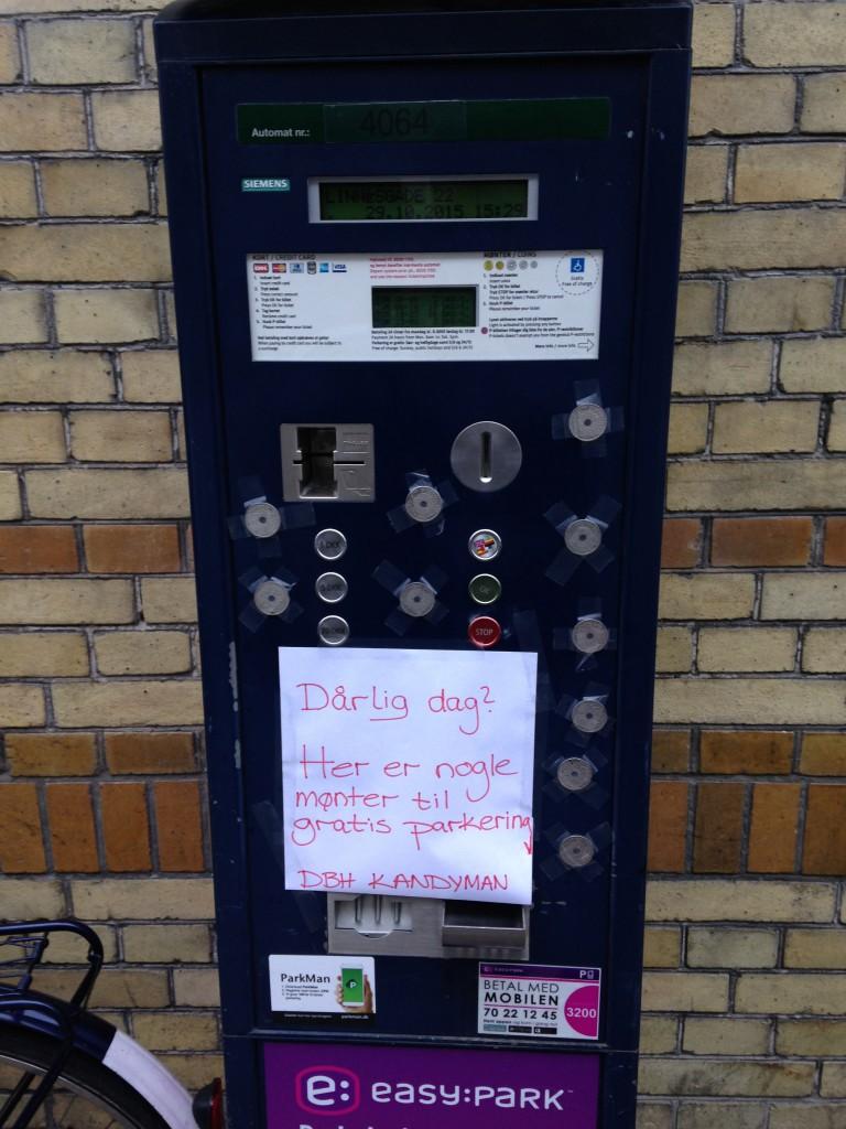 Sweet Deed #29 - Gratis parkering