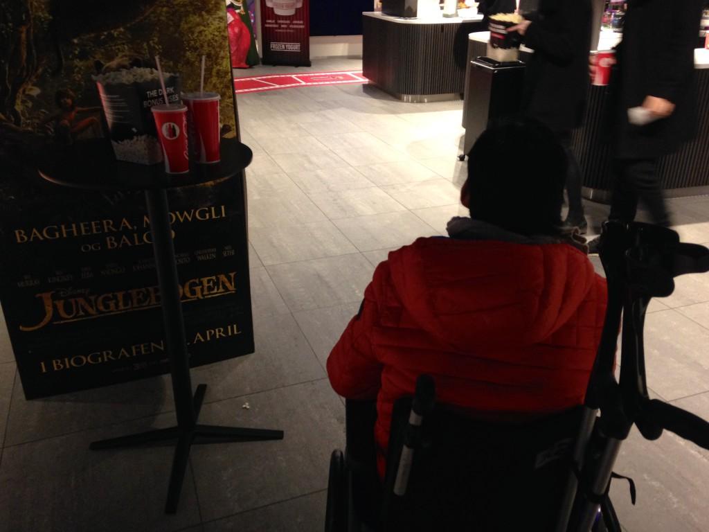 Sweet Deed #47 - I biffen med kørestolsbruger